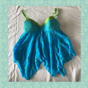 Victoria's Secret Babydoll Lingerie Embroidery Top